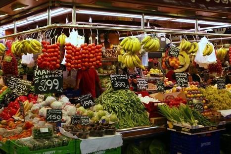 Os 3 melhores mercados de comida de Barcelona | Dicas de Viagem Europa | Scoop.it