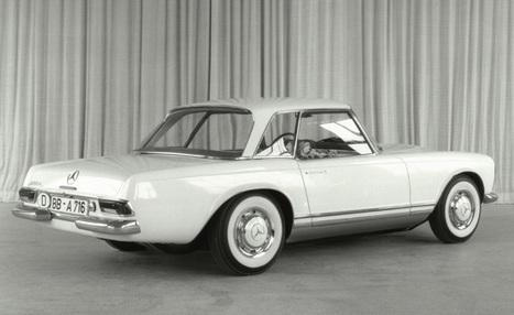 Genesis of the Pagoda | Classic Mercedes | Scoop.it