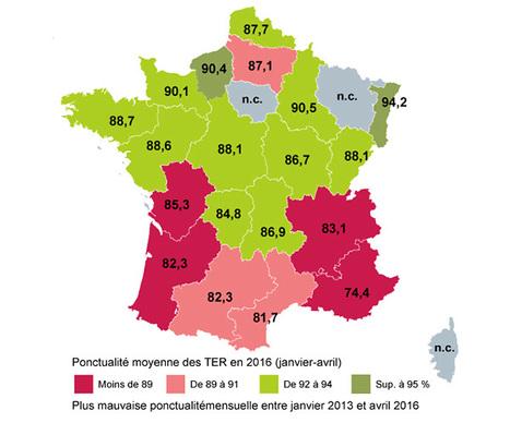 Trains régionaux: géographie d'une crise - Le Monde   Quoi de neuf sur le Web en Histoire Géographie ?   Scoop.it