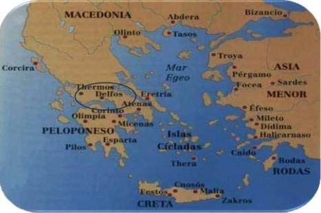 Delfos, ciudad griega | Mundo Clásico | Scoop.it