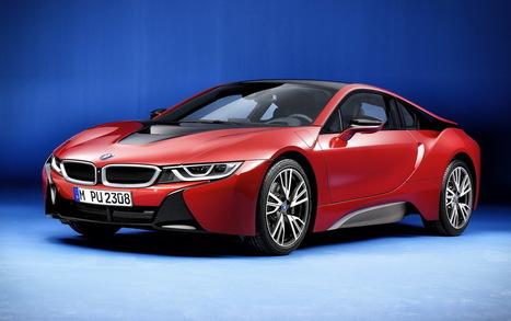 BMW i8 Protonic Red Edition : une série spéciale de la i8 à Genève | Voitures anciennes - Classic cars - Concept cars | Scoop.it