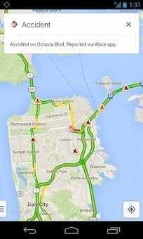 Google Maps gets real time Waze reports on Android and iOS | Digital & Online Marketing | Scoop.it