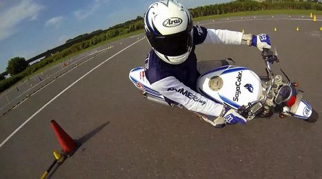 Rotary-Mounted Cam + Motorcycle Gymkhana = Awesome | Desmopro News | Scoop.it