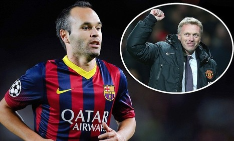 Andres Iniesta is a January target for Manchester United | Football | Scoop.it