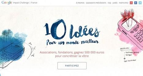 Google lance en France la première édition du Google Impact Challenge - Les Outils Google | Les outils du Web 2.0 | Scoop.it