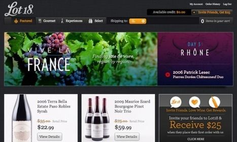 "Lot 18 veut être un ""Amazon"" du vin 