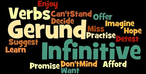 The EFL SMARTblog: Gerund or Infinitive? | Learning English is a Journey | Scoop.it