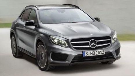 Salone di Francoforte 2013: le novità Mercedes in Video | Mercedes-Benz GLA | Scoop.it