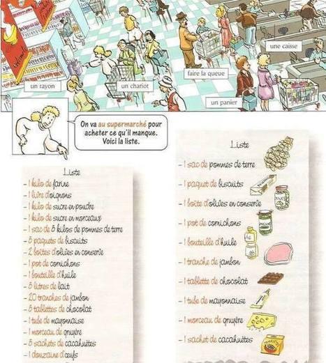 Faire ses courses au supermarché | Français comme langue étrangère | Scoop.it
