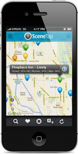 Find out the restaurant scene in real time w SceneTap   Restaurant Tips   Scoop.it