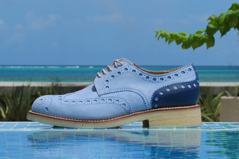 GRENSON X IN THE MIDDLE – S/S 2013 – ARCHIE BROGUE ...   Chaussures Homme   Scoop.it