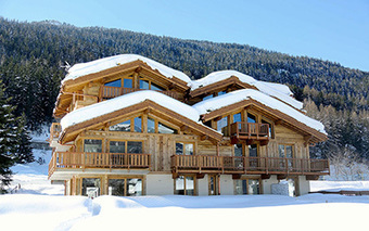 Passage au responsive design pour Chalet Pure, résidence de luxe en location, Courchevel Le Praz | 2H+M Link | Scoop.it