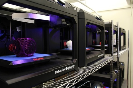 As Libraries Across the U.S. Embrace Desktop 3D Printing, UMass Amherst Opens First Large-Scale MakerBot Innovation Center at a University Library | Business Wire | Library Collaboration | Scoop.it