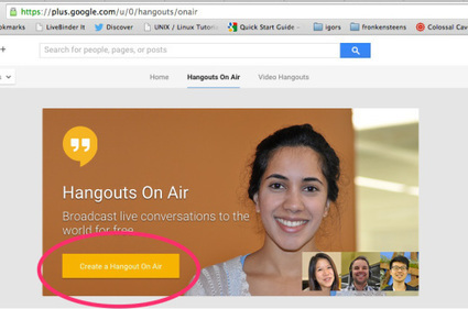 How to use Google Hangout for screencasting - Innovation: Education | Jewish Education Around the World | Scoop.it