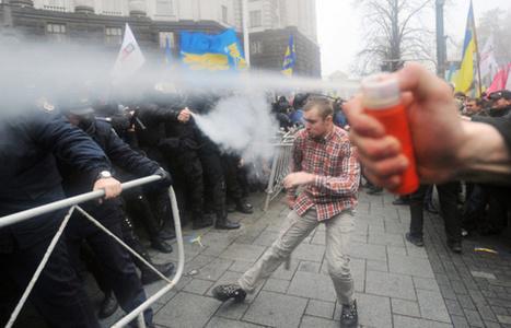 Ukrainassa jättiprotesti EU-sopimuksen puolesta | The thing that it is | Scoop.it