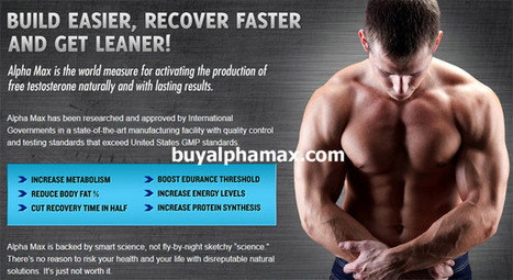 Buy Alpha Max Testosterone Booster Supplement Free Trial   Alpha Max booster review   Scoop.it