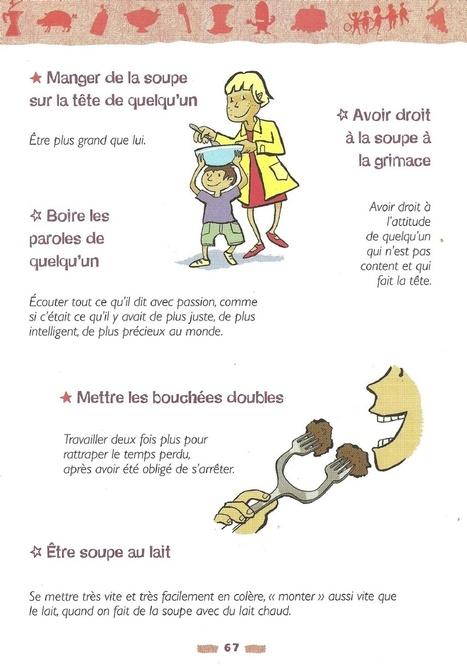 Expressions françaises imagées | fleenligne | Scoop.it