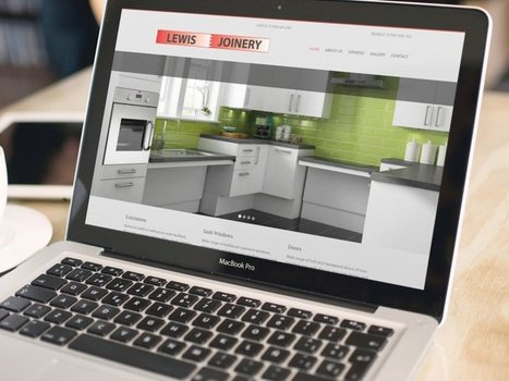 CMS Web Design for Lewis Joinery - OPD Design Agency | The importance of digital media in today's business | Scoop.it