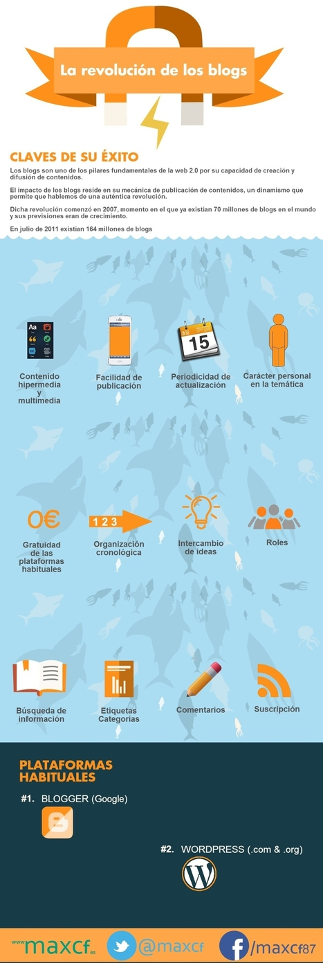 La revolución de los blogs #infografia #infographic #socialmedia | My SEO, SEM, RRSS, y MKTD. | Scoop.it
