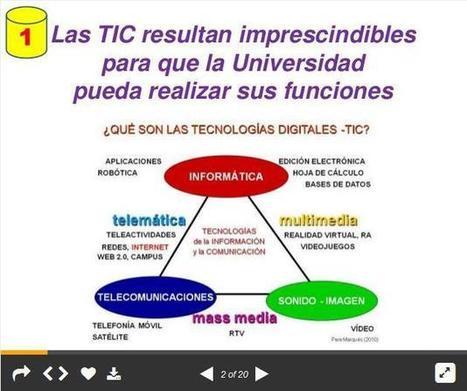 TIC en los Campus Universitarios - ¿Evolución o Revolución? | Presentación | Educación y sus gajes | Scoop.it