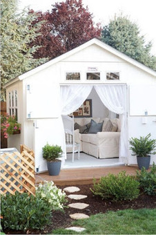 TUFF SHED at The Home Depot: One Great Backyard Retreat | Tuff shed - Sheds and Garages | Scoop.it