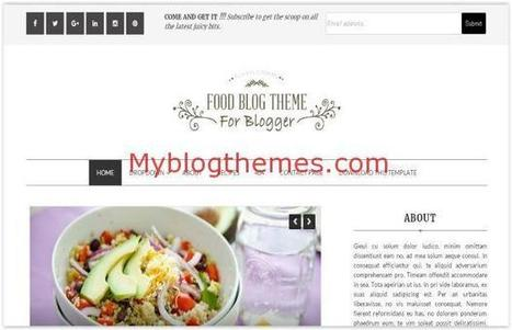 Clean Restaurant Blogger Food Template Download | Blogger themes | Scoop.it