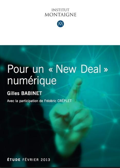 publications | Institut Montaigne | digital utilities | Scoop.it