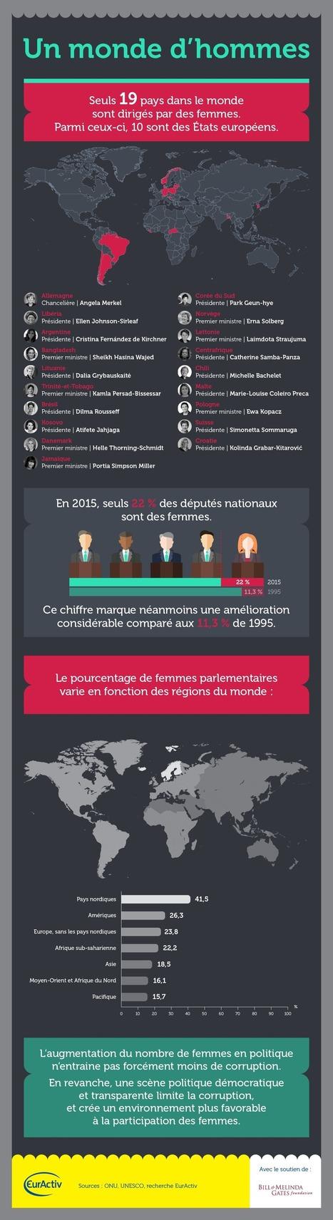 Infographie : Un monde d'hommes | Développement durable et efficacité énergétique | Scoop.it