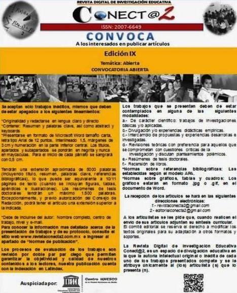 Convocatoria abierta de recepción de artículos - Revista Electrónica de Investigación Educativa ConeCT@2   Physical Education Methodology   Scoop.it