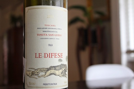 Le Difese: The perfect Baby Super Tuscan | The Wine Bottle | Italian Wines | Scoop.it