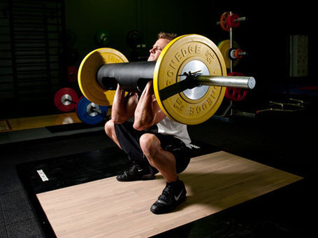 The effects of weightlifting shoes on squat kinematics | Crossfit News | Scoop.it