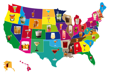 Signature cocktails of every state - Holy Kaw! | Sonic Well Productions | Scoop.it
