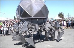 Giant geodesic dome robot runs in solar and the wind electric power | Submission hero | Scoop.it