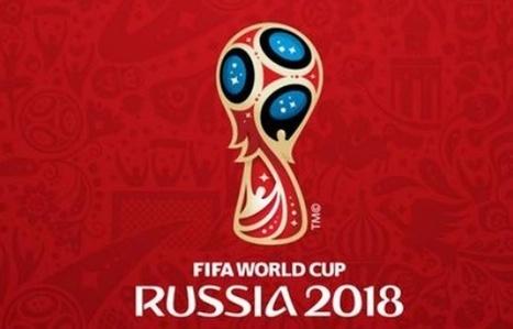 Coupe du monde 2018: La Fifa dévoile le logo | Visual Strategy | Scoop.it