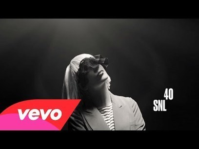 """Sia performs """"Chandelier"""" on SNL alongside an American Sign Language interpretation. • /r/videos 