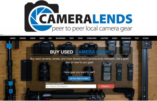 CameraLends Launches Marketplace for Used Gear