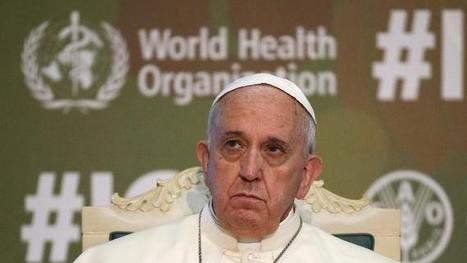 Pope demands just distribution of world's bounty | IRDI | Scoop.it