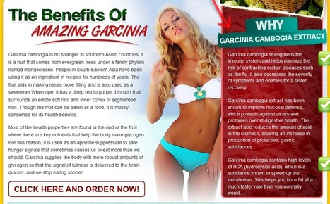 Amazing Garcinia REVIEW - GET FREE TRIAL SUPPLIES LIMITED!!! | sheryl orr | Scoop.it