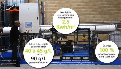Le dessalinisateur solaire d'eau de mer : l'invention française qui peut sauver des vies   Initiatives pour un monde meilleur   Scoop.it
