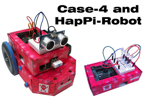 Case4-Kits and HapPi-Robot for the Raspberry Pi | Raspberry Pi | Scoop.it