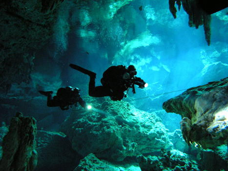 OHS involved with Cave Diving | Paramedic OHS | Scoop.it