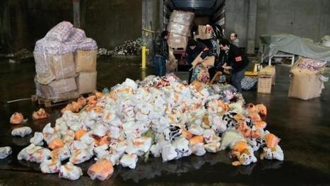 Noël : Plus de 20 000 jouets dangereux détruits par les douanes. | Toxique, soyons vigilant ! | Scoop.it