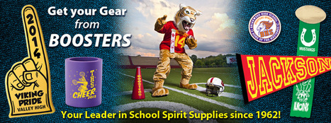 School Spirit Items/Products & Custom Sports Spirit Buttons   Booster's Inc   Boosters   Scoop.it