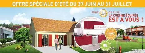 Une cuisine à 1 € avec le constructeur Maisons Pierre | MIKIT Maison individuelle | Scoop.it
