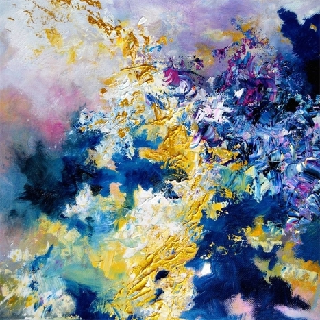 """Here's How An Artist With Synesthesia """"Sees"""" Famous Songs 