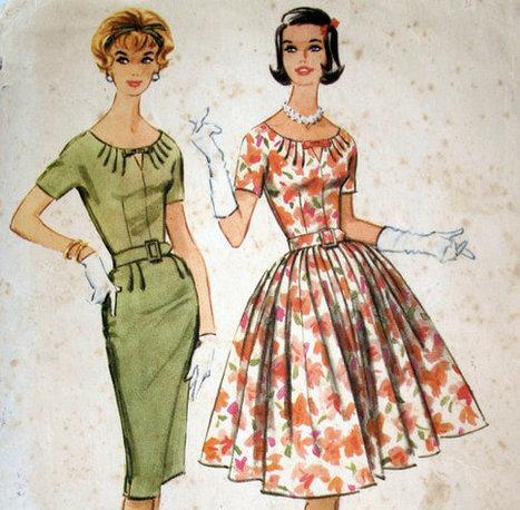 1960s Dress Pattern | QuiteQuainte | Scoop.it