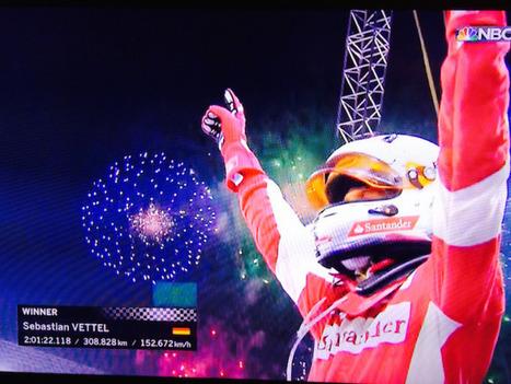 Race Report: Vettel wins Singapore GP | F 1 | Scoop.it