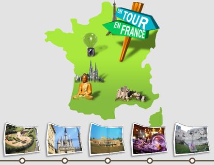 Jeu « Un Tour en France » | Recursos para Francés | Scoop.it