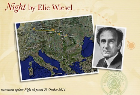Night by Elie Wiesel UPDATED! | Google Lit Trips: Reading About Reading | Scoop.it