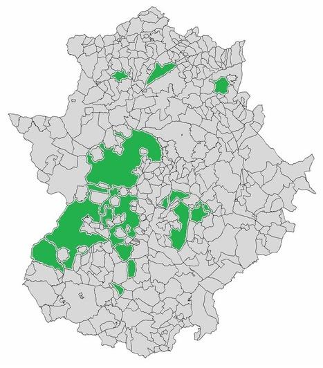 Veinte mapas sobre la distribución de la población en España | Enseñar Geografía e Historia en Secundaria | Scoop.it